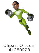 Green Super Hero Clipart #1380228 by Julos