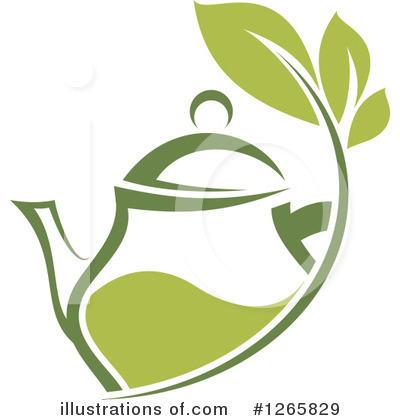 Royalty-Free (RF) Green Tea Clipart Illustration by Vector Tradition SM - Stock Sample #1265829