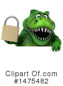 Green Trex Clipart #1475482 by Julos