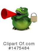 Green Trex Clipart #1475484 by Julos