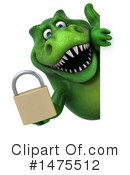 Green Trex Clipart #1475512 by Julos