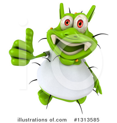 Green Germ Clipart #1313585 by Julos
