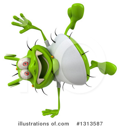 Green Germ Clipart #1313587 by Julos