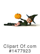 Green Witch Clipart #1477923 by Julos