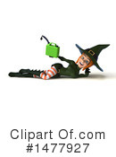 Green Witch Clipart #1477927 by Julos