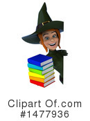 Green Witch Clipart #1477936 by Julos