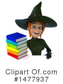 Green Witch Clipart #1477937 by Julos