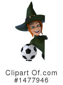 Green Witch Clipart #1477946 by Julos