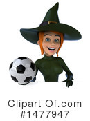 Green Witch Clipart #1477947 by Julos