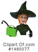Green Witch Clipart #1480077 by Julos