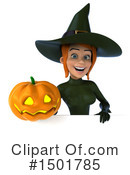 Green Witch Clipart #1501785 by Julos
