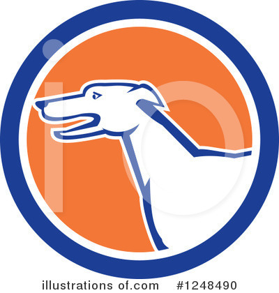 Greyhound Clipart #1248490 by patrimonio