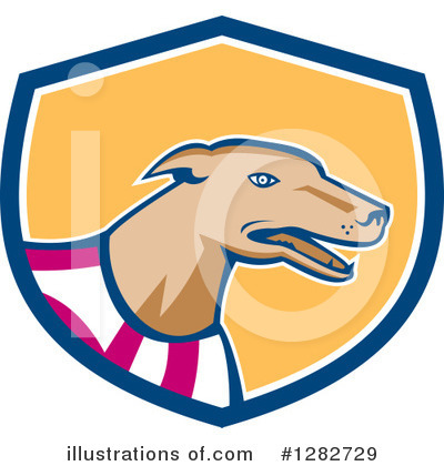Greyhound Clipart #1282729 by patrimonio