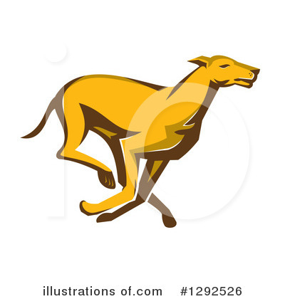 Greyhound Clipart #1292526 by patrimonio