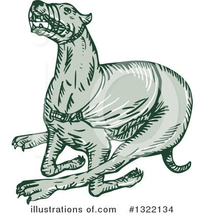 Greyhound Clipart #1322134 by patrimonio