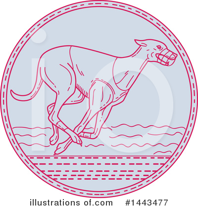 Greyhound Clipart #1443477 by patrimonio