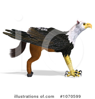 Griffin Clipart #1070599 by Ralf61