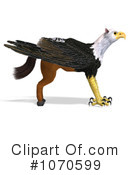 Royalty-Free (RF) Griffin Clipart Illustration #1070599