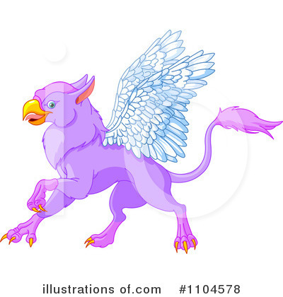 Griffin Clipart #1104578 by Pushkin