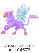 Royalty-Free (RF) Griffin Clipart Illustration #1104578
