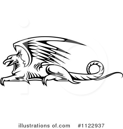 Griffin Clipart #1122937 by Vector Tradition SM