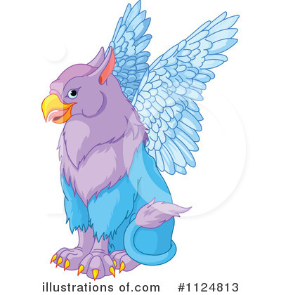 Griffin Clipart #1124813 by Pushkin