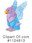 Royalty-Free (RF) Griffin Clipart Illustration #1124813