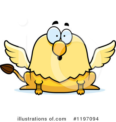 Griffin Clipart #1197094 by Cory Thoman