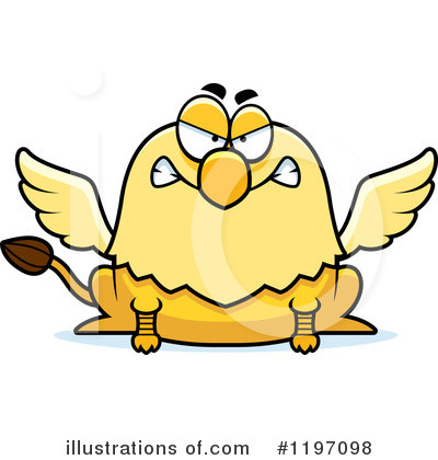 Griffin Clipart #1197098 by Cory Thoman