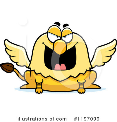 Griffin Clipart #1197099 by Cory Thoman