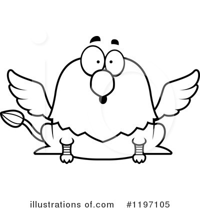 Griffin Clipart #1197105 by Cory Thoman