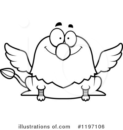 Griffin Clipart #1197106 by Cory Thoman
