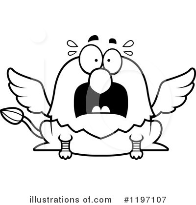 Griffin Clipart #1197107 by Cory Thoman