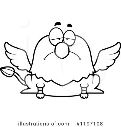 Griffin Clipart #1197108 by Cory Thoman