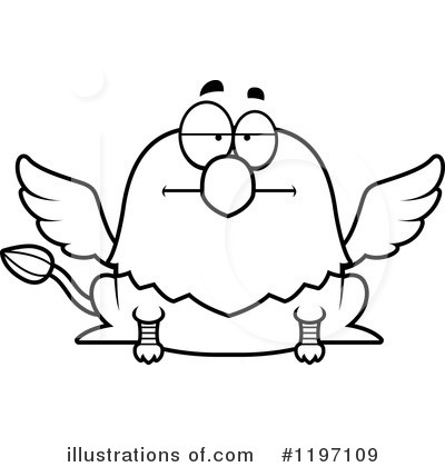 Griffin Clipart #1197109 by Cory Thoman