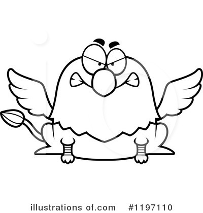 Griffin Clipart #1197110 by Cory Thoman