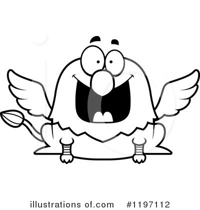 Griffin Clipart #1197112 by Cory Thoman