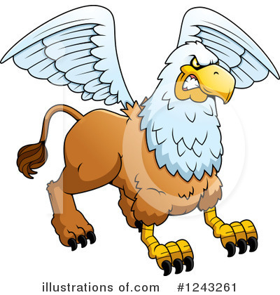 Griffin Clipart #1243261 by Cory Thoman