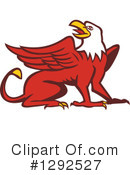 Royalty-Free (RF) Griffin Clipart Illustration #1292527