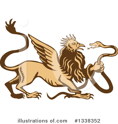 Lion Clipart #1338352 by patrimonio