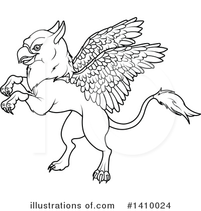Griffin Clipart #1410024 by Pushkin