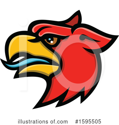 Royalty-Free (RF) Griffin Clipart Illustration by patrimonio - Stock Sample #1595505
