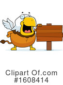 Griffin Clipart #1608414 by Cory Thoman