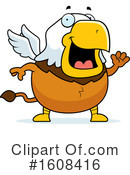Griffin Clipart #1608416 by Cory Thoman