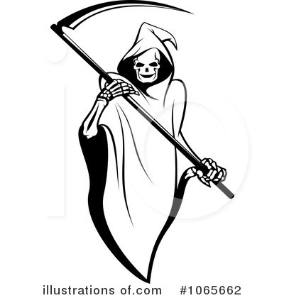 Grim Reaper Clipart #1065662 by Vector Tradition SM