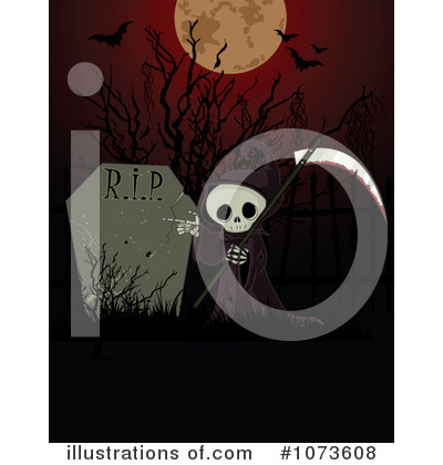 Grim Reaper Clipart #1073608 by Pushkin