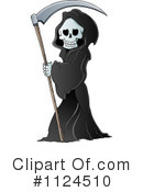 Royalty-Free (RF) Grim Reaper Clipart Illustration #1124510