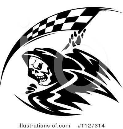 Grim Reaper Clipart #1127314 by Vector Tradition SM