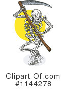 Royalty-Free (RF) Grim Reaper Clipart Illustration #1144278