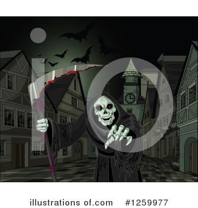 Grim Reaper Clipart #1259977 by Pushkin